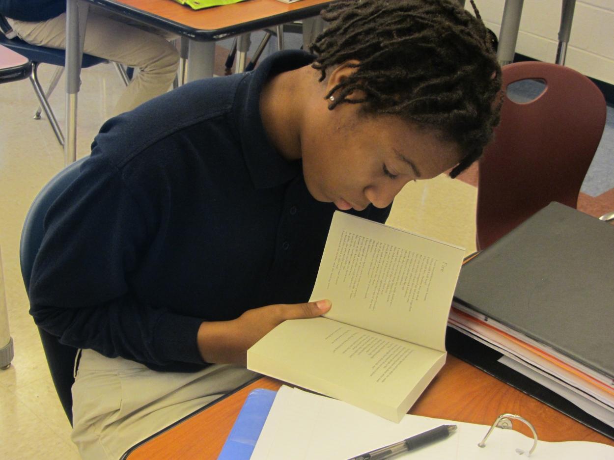 AOBF Boy Reading