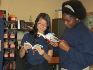 AOBF Hardy Students Reading